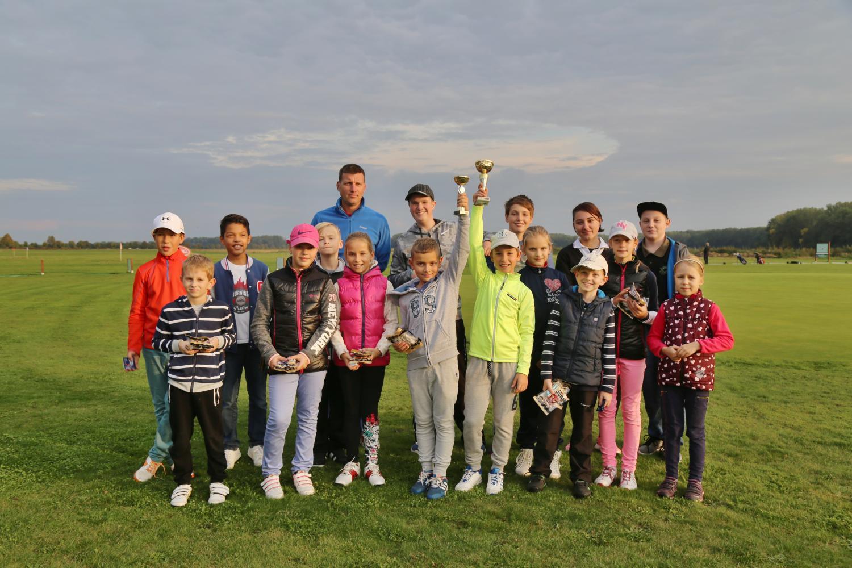 Fotografie z Ukončení dětských golfových tréninků